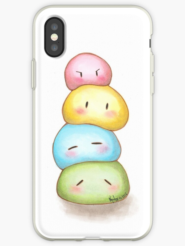 Stack of Dango by Sangz