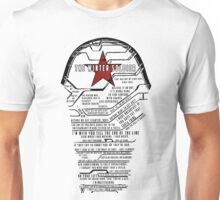 The Winter Soldier Quotes Unisex T-Shirt