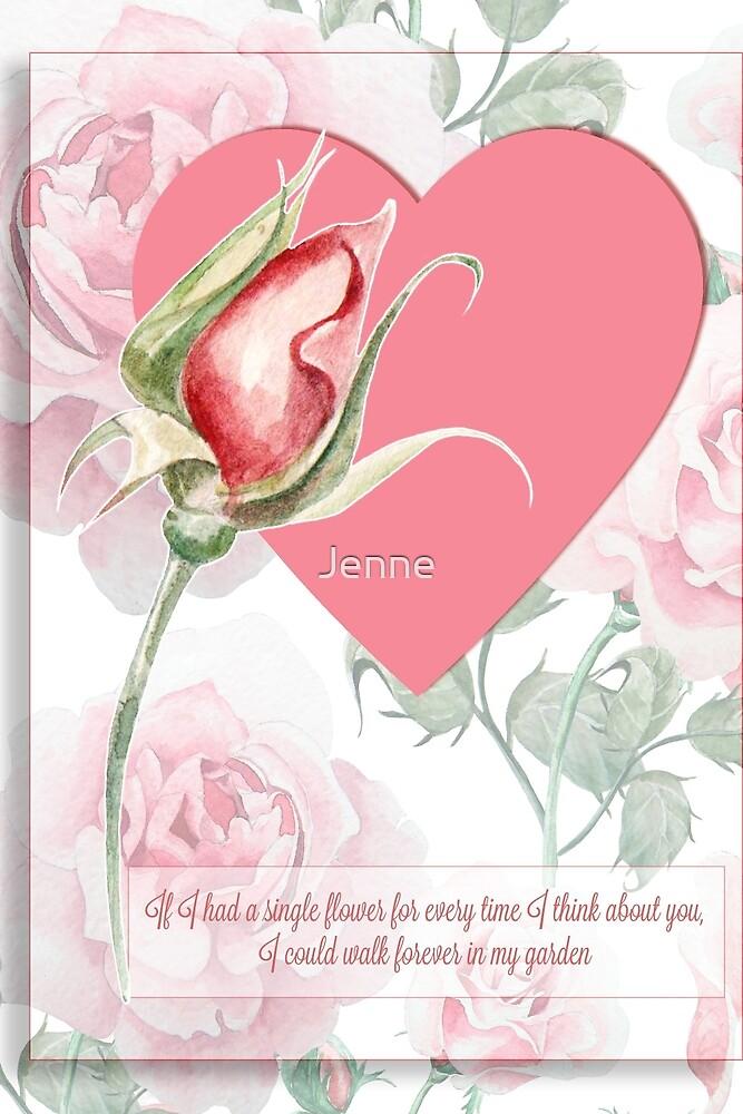 A single rose ..... by Jenne