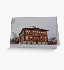 Marble Rock School Greeting Card