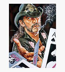 Lemmy Kilmister painting Photographic Print