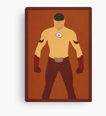 Kid Flash (Wally West) Minimalist Canvas Print