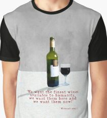 Glass of Wine Graphic T-Shirt