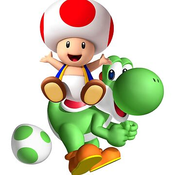 Toad with Yoshi by po4life