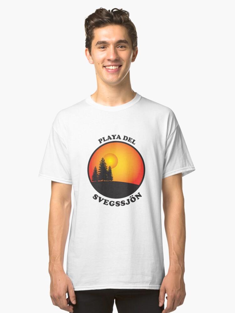 Playa del Svegssjön Classic T-Shirt Front
