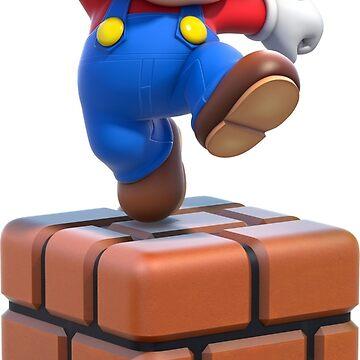 Mario on Block by po4life