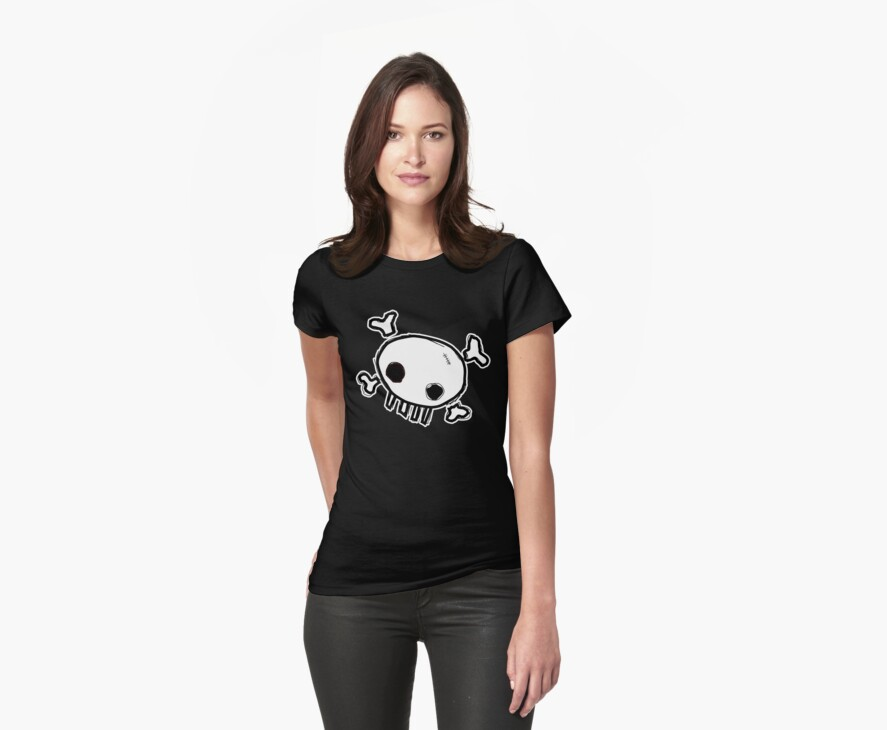 Cute Skull by Stuart Stolzenberg