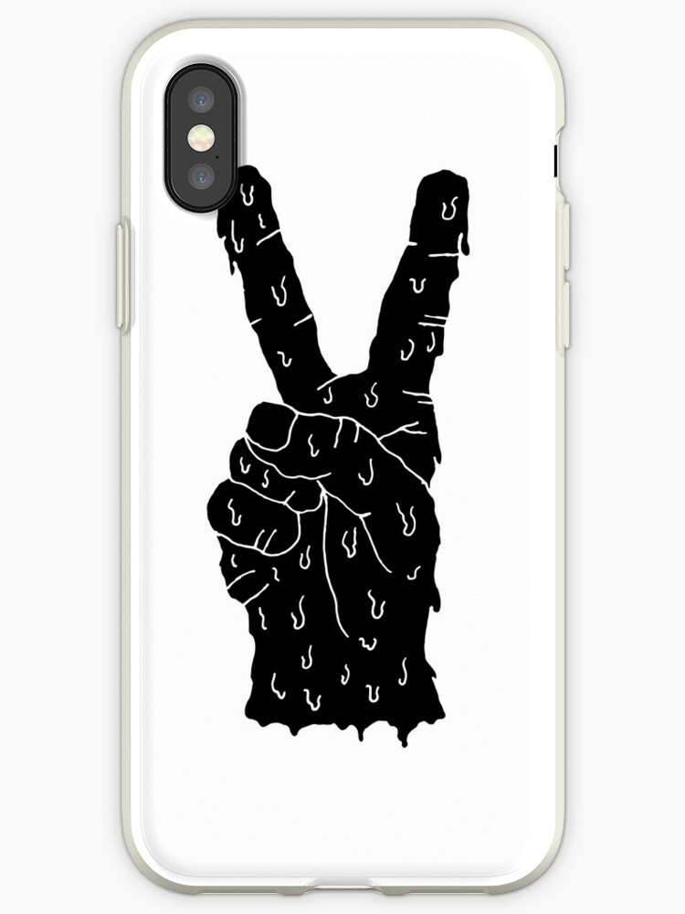 peace sign - black  by MeltCo
