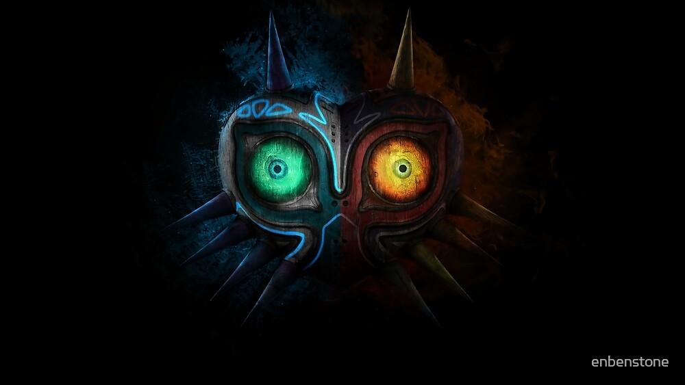 Majora's Mask by enbenstone
