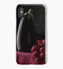 Aubergine and Grapes iPhone Case/Skin