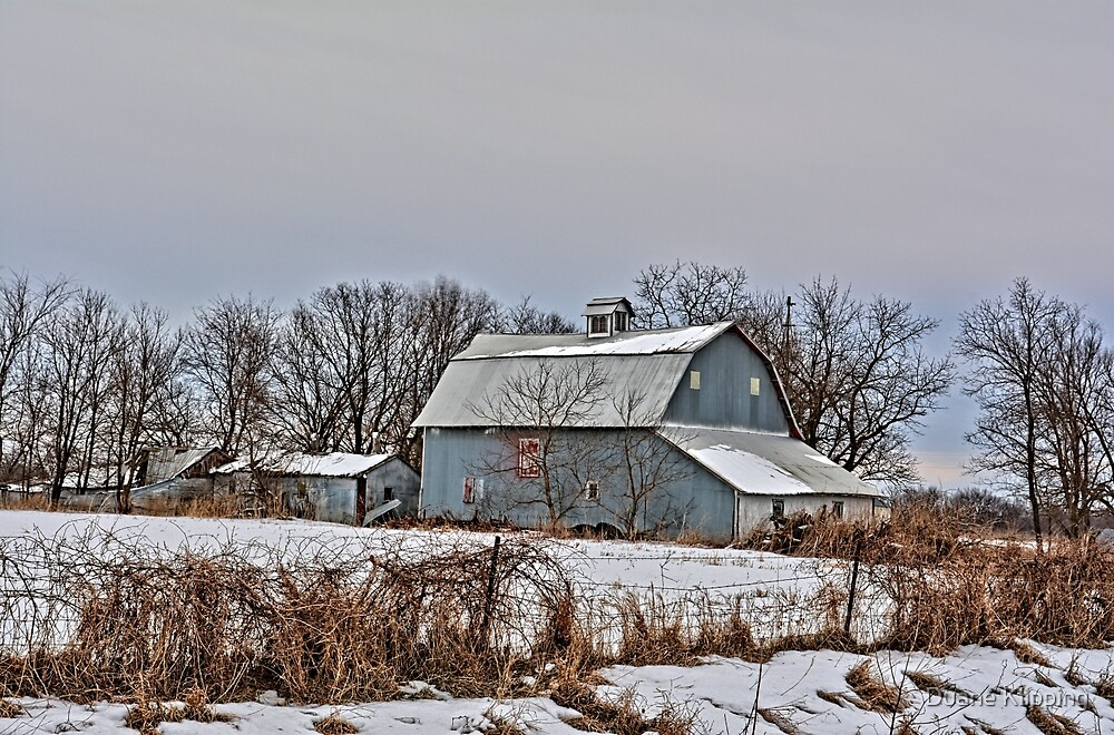 Winter On The Farm 5 by Duane Sr
