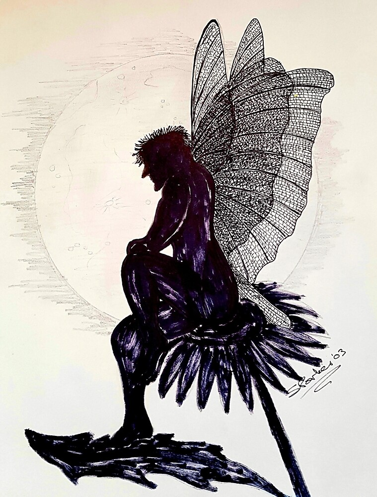 Faery Silhouette by MasterMacabre