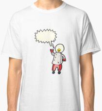 futuristic robot cartoon Classic T-Shirt