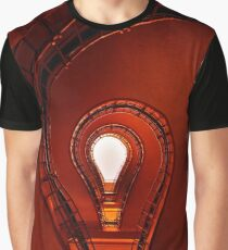 The lightbulb staircase Graphic T-Shirt