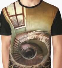 Spiral stairs and the window Graphic T-Shirt