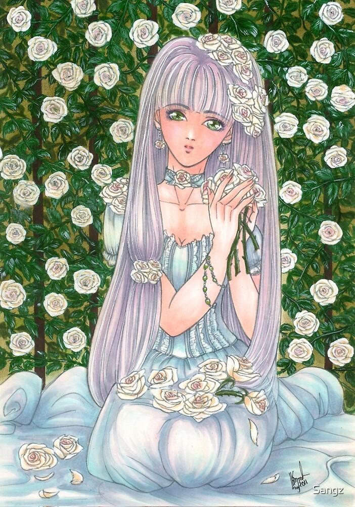 Lady Snow Rose by Sangz