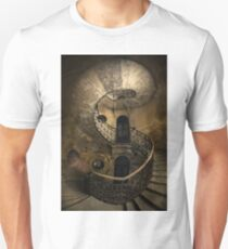 Old forgotten Staircase Unisex T-Shirt