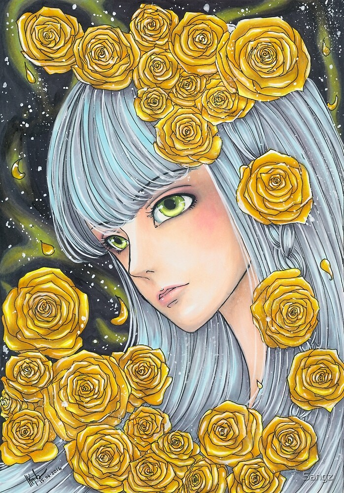 Lady Golden Rose by Sangz