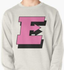 """Pink """"E"""" with shadow Pullover"""