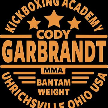 Cody Garbrandt shirt by teeturle