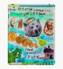 Death Comes Like the Hungry Bear in Autumn iPad Case/Skin