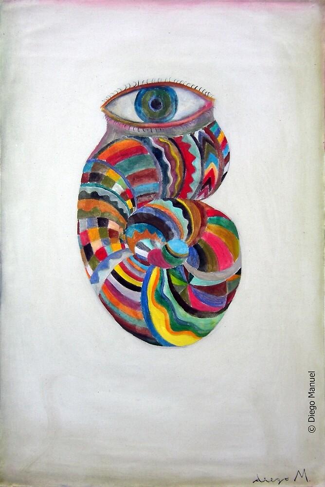Snail eye by Diego Manuel Rodriguez