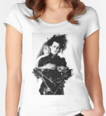 Depp + Ryder / Edward Scissorhands Women's Fitted Scoop T-Shirt