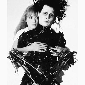 Depp + Ryder / Edward Scissorhands by littlefoxes