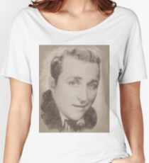 Bing Crosby, Singer and Actor Women's Relaxed Fit T-Shirt