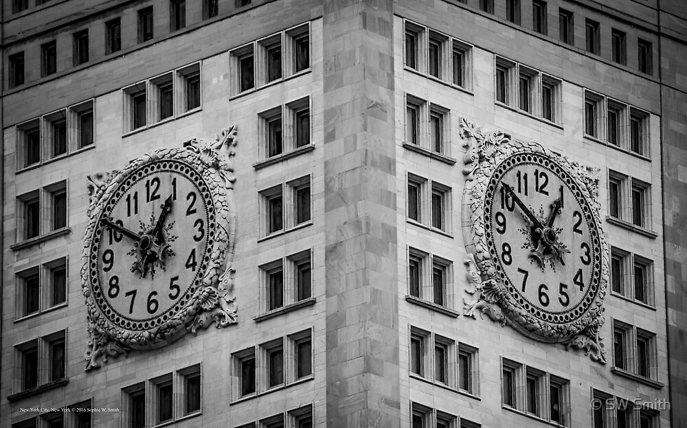 Clock - Stereo Edition | New York City, New York by © Sophie W. Smith