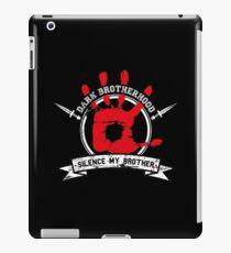 Dark Brotherhood - black iPad Case/Skin