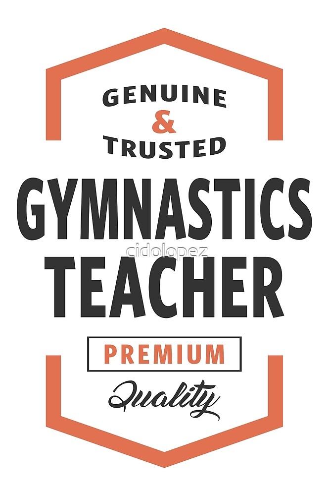 Gymnastics Teacher Logo Tees by cidolopez