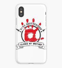 Dark Brotherhood - White iPhone Case/Skin
