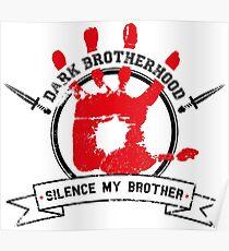 Dark Brotherhood - White Poster