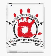 Dark Brotherhood - White iPad Case/Skin