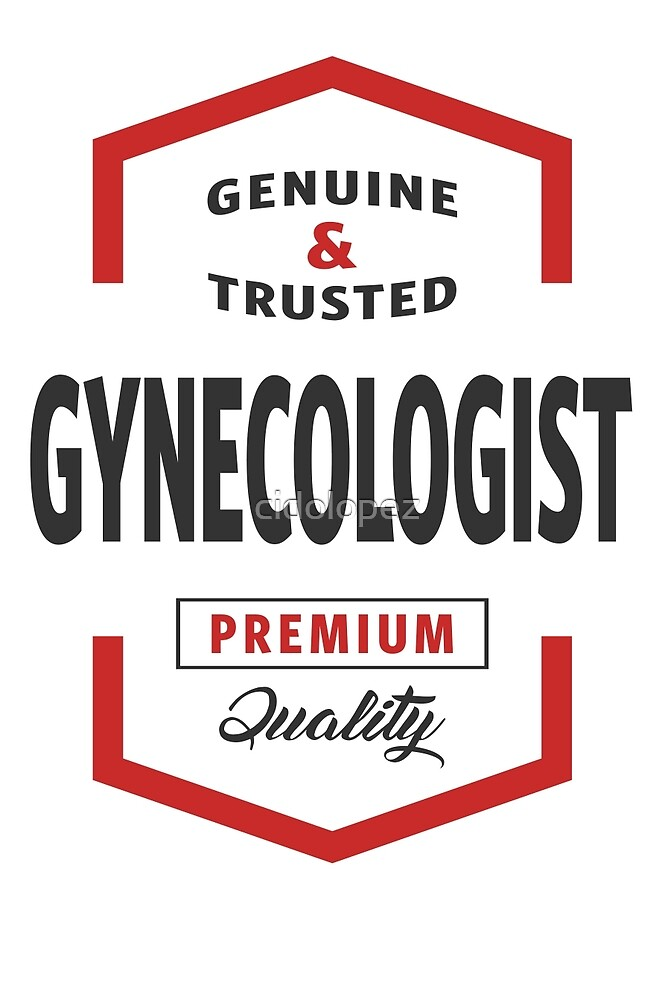 Gynecologist Logo Gifts by cidolopez