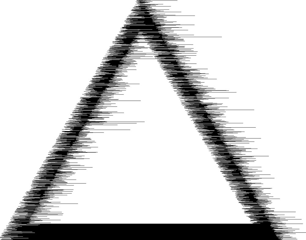 Glitch Triangle by Marcus Rasmussen