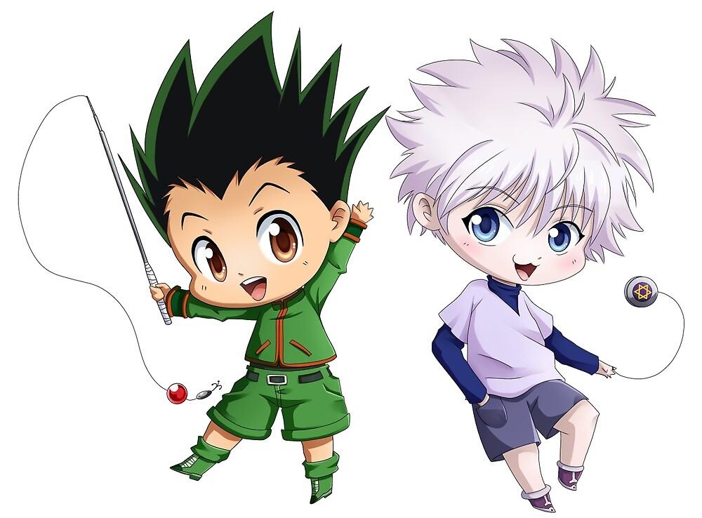 Gon & Killua by elfefe