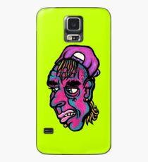 Burnout - Green Background Version Case/Skin for Samsung Galaxy