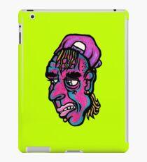 Burnout - Green Background Version iPad Case/Skin