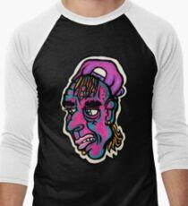 Burnout - Black Background Version Baseball ¾ Sleeve T-Shirt