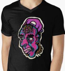 Burnout - Black Background Version V-Neck T-Shirt