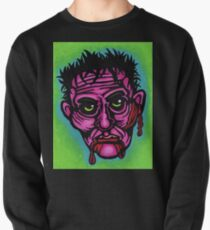 Pink Zombie Pullover Sweatshirt