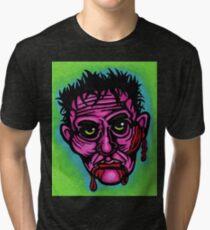 Pink Zombie Tri-blend T-Shirt