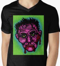Pink Zombie V-Neck T-Shirt