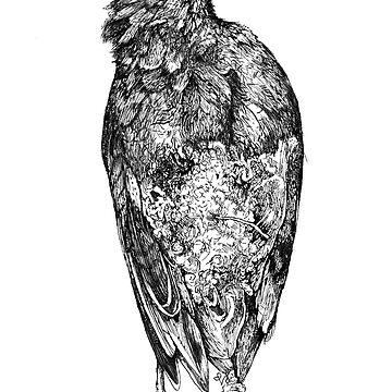 Crow by paintingsofi