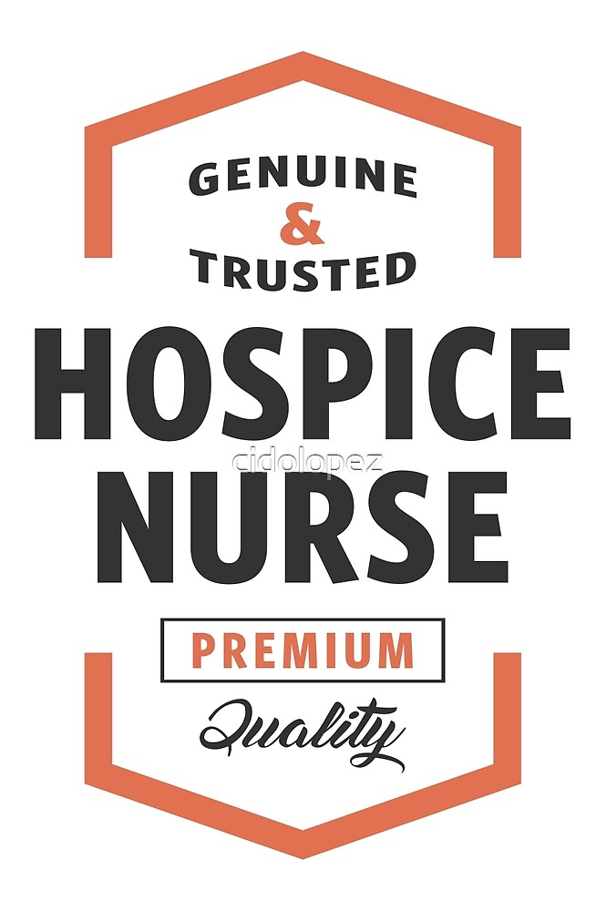 Hospice Nurse Logo Gifts by cidolopez
