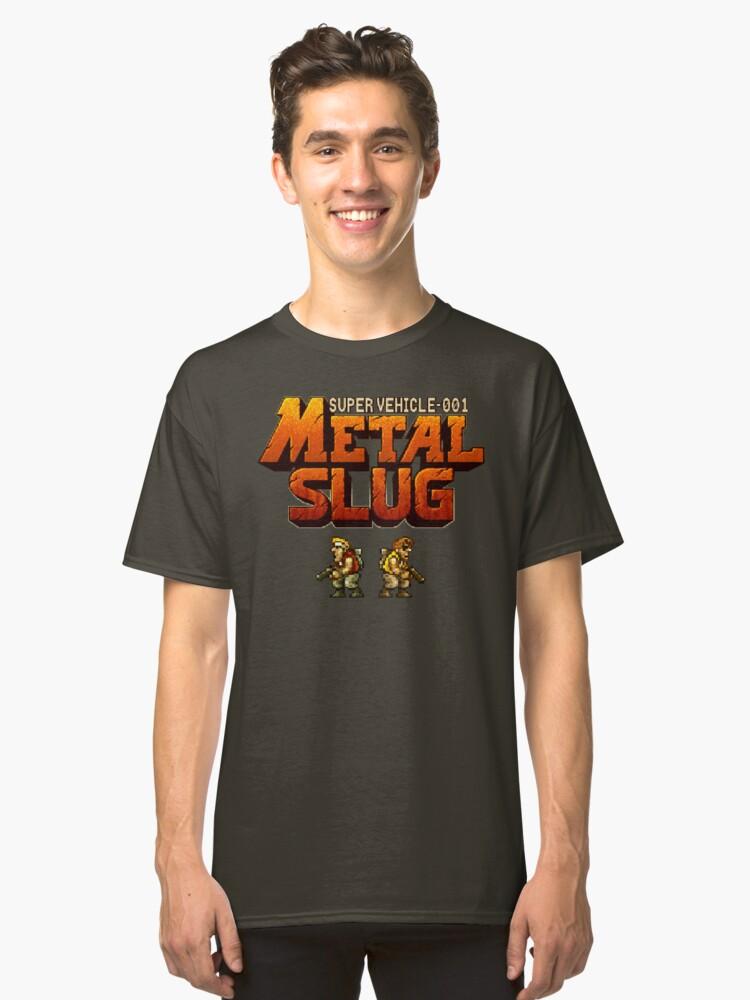 Metal Slug (Neo Geo) Classic T-Shirt Front