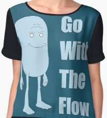 Rick and Morty King Jellybean Go With The Flow Chiffon Top