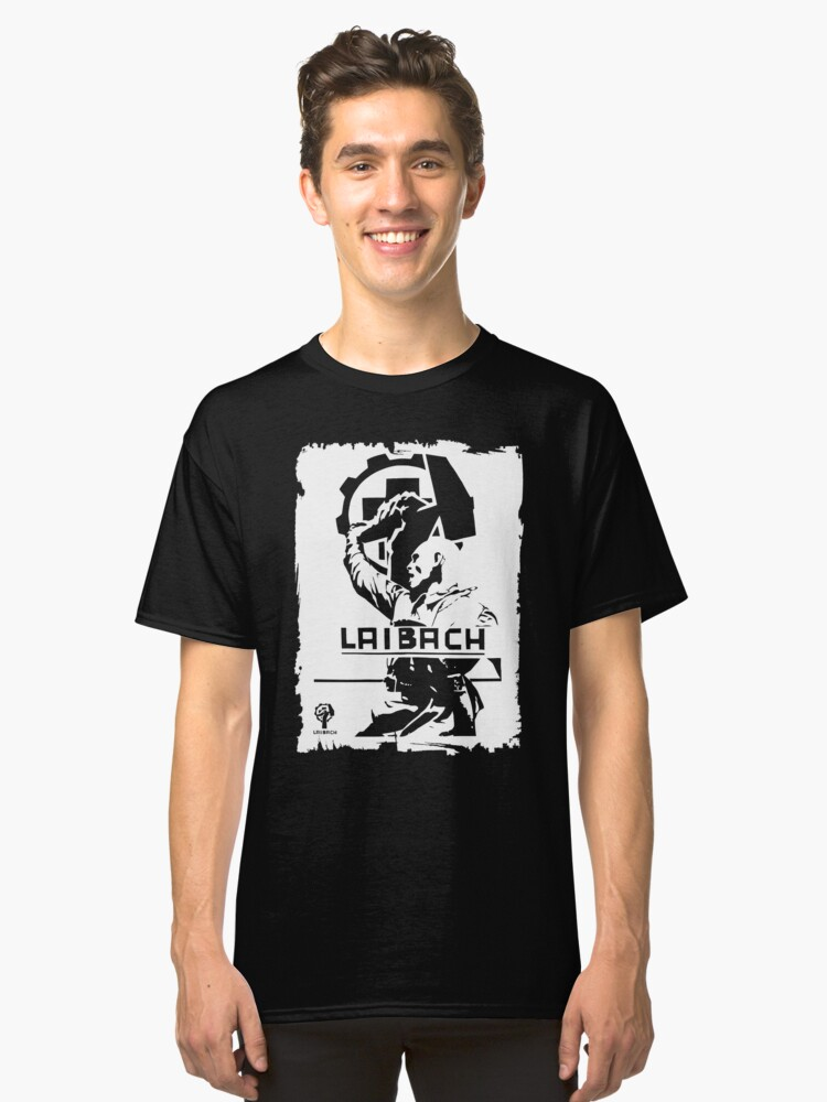 Laibach, Industrial music Classic T-Shirt Front